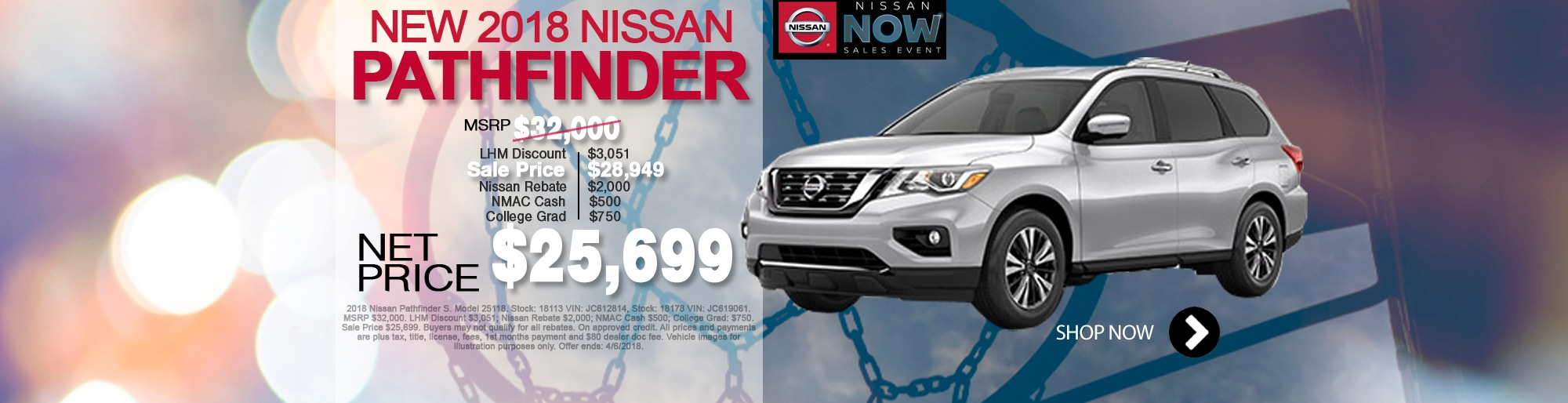New Nissan Pathfinder For Sale March Special Net Price $25,699 Larry H Miller Nissan Corona