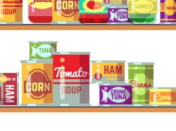Donate 2 Food Items Get $10 Off