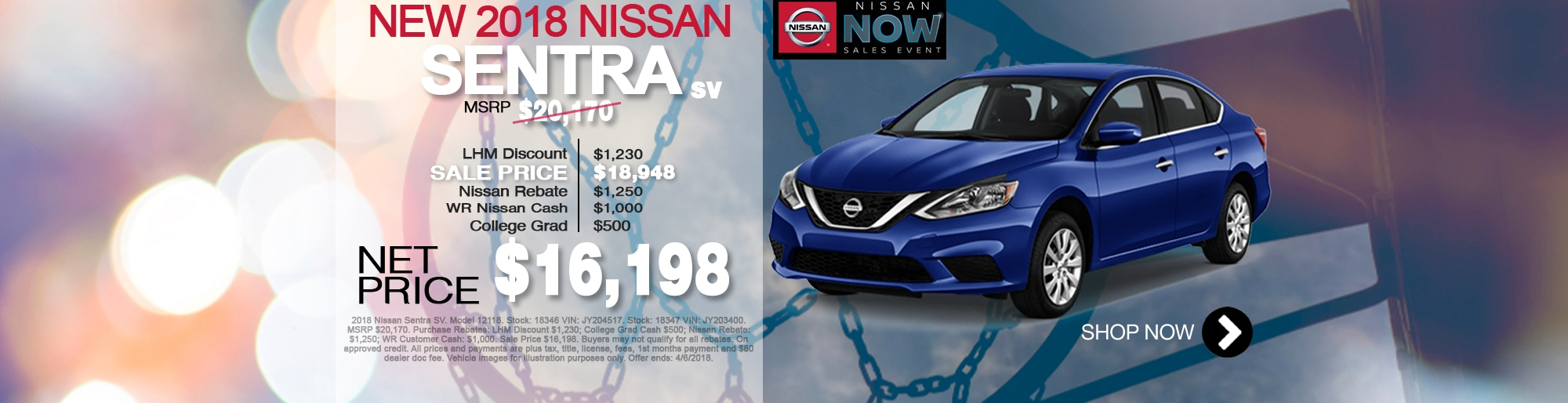 New Nissan Sentra For Sale March Special Net Price $16,198 Larry H Miller Nissan Corona