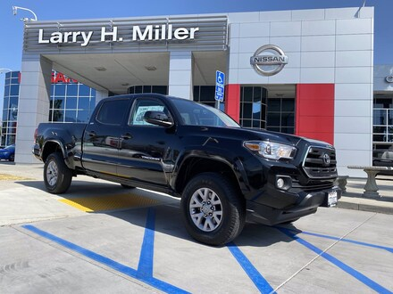 Featured Pre-Owned 2017 Toyota Tacoma SR5 V6 Truck Double Cab for sale near you in Corona, CA