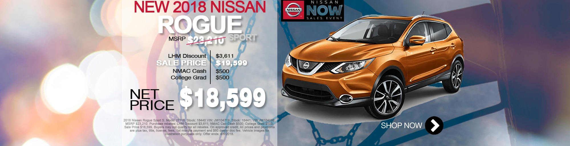 New Nissan Rogue For Sale March Special Net Price $18,599 Larry H Miller Nissan Corona