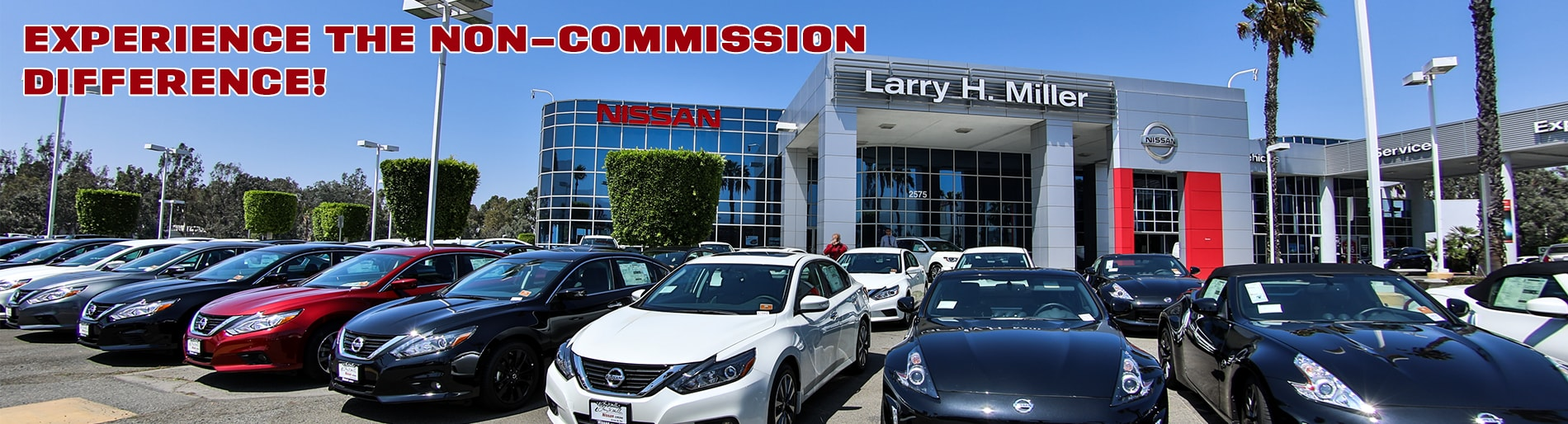 Larry H Miller Nissan Corona Non-Commission Difference