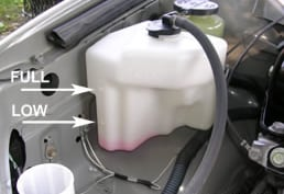 how to add coolant to your ford car or truck near denver co. Black Bedroom Furniture Sets. Home Design Ideas