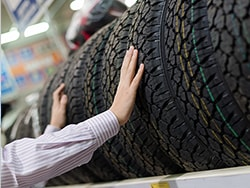 Buy 4 Select Tires and get a Rebate!