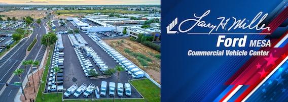 Larry Miller Ford >> Larry H Miller Ford Commercial Vehicle Center Work Trucks In Mesa Az