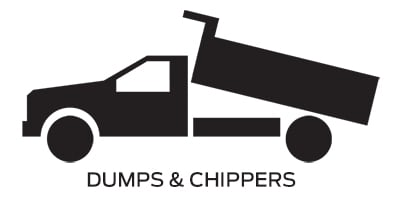 Icon linking to Ford dumps and chippers work trucks