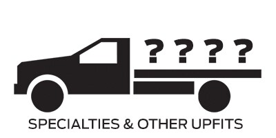 Icon linking to Ford specialties and other upfit work trucks