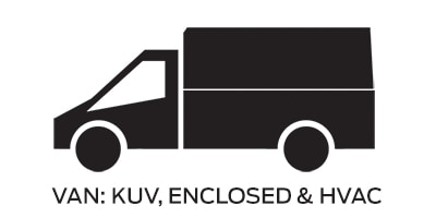 Icon linking to Ford van kuv and enclosed work trucks