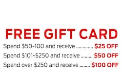 FREE $100 Gift Card!
