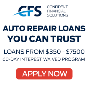 Confident Financial Solutions Auto Repair Loans