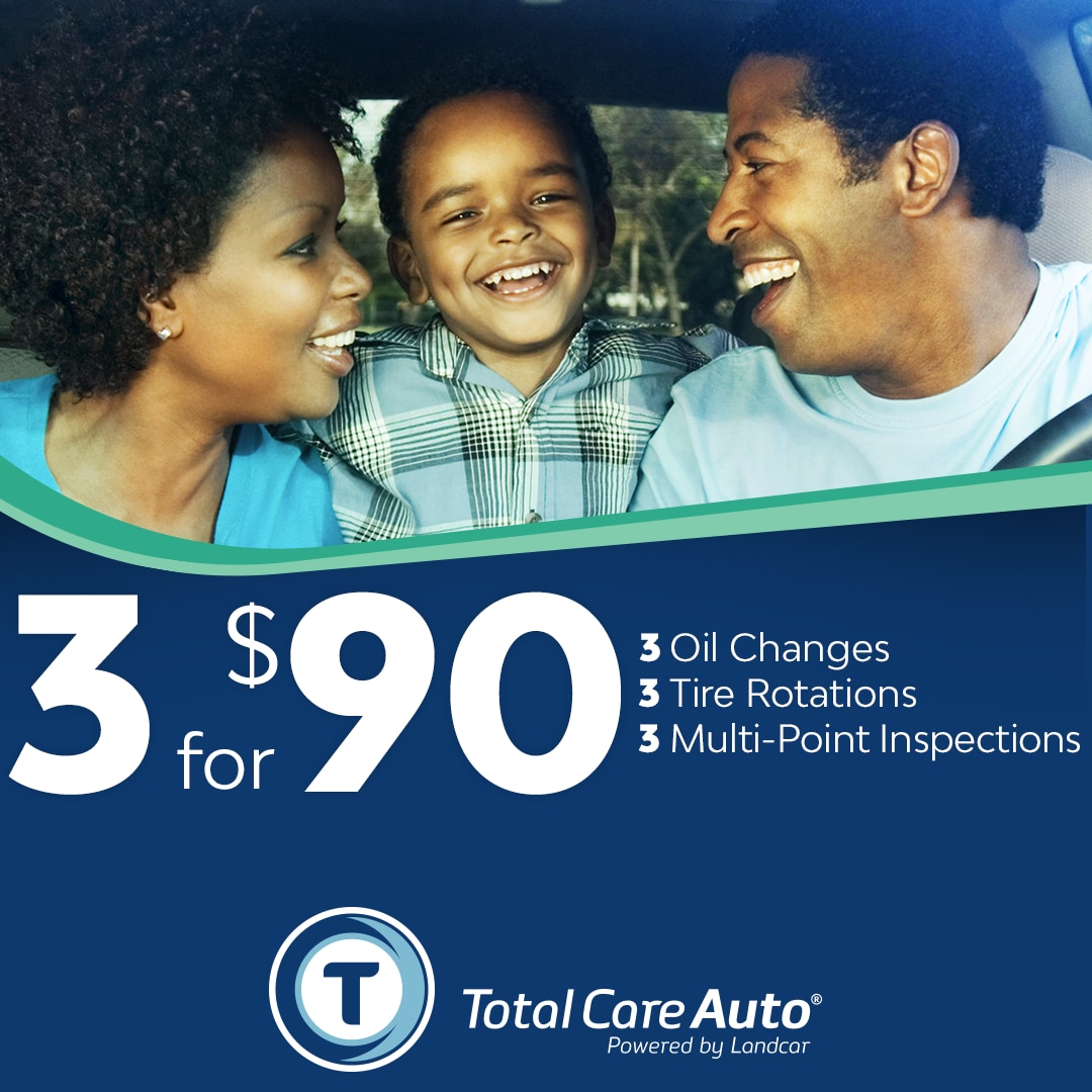 Total Care Auto Prepaid Maintenance Package