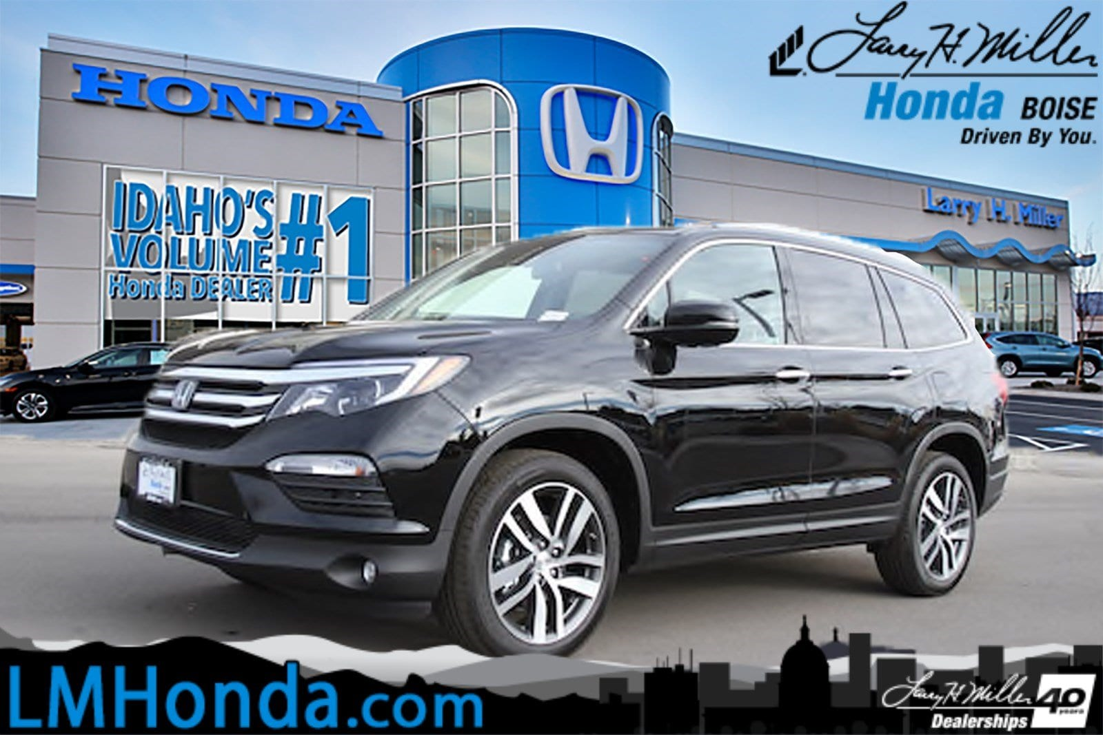 Featured Used 2018 Honda Pilot Elite AWD SUV for sale near you in Boise, ID
