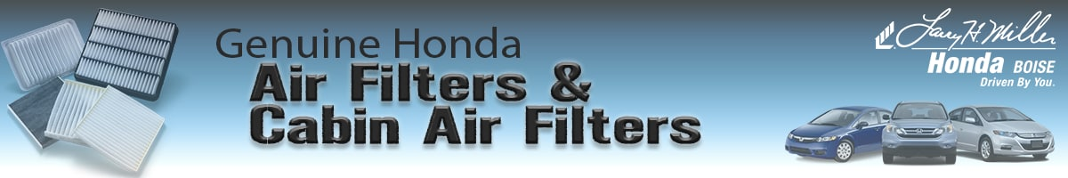 Genuine Honda Air Filters And Cabin Air Filters In Boise