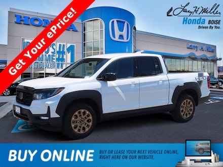 Featured New 2021 Honda Ridgeline Sport Truck Crew Cab for sale near you in Boise, ID