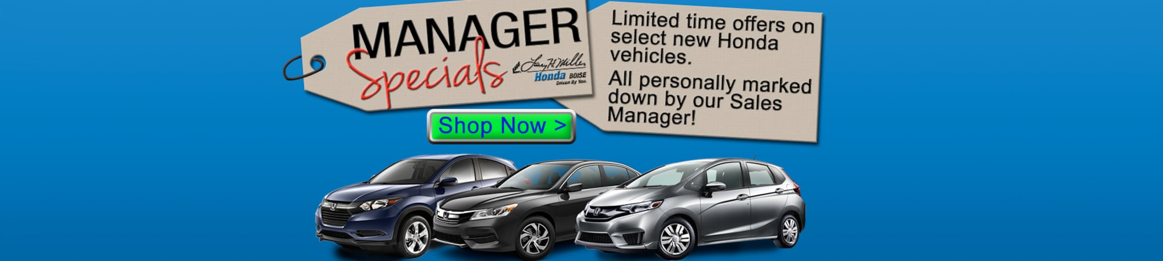 Larry H. Miller Honda Boise | New & Used Car Dealer | Honda Dealer