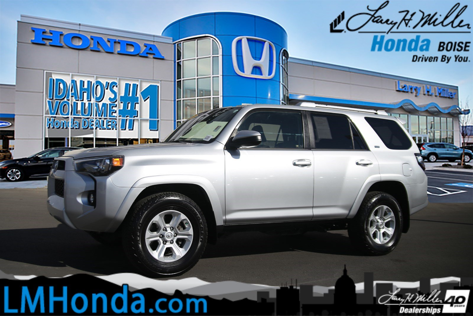 Featured Used 2017 Toyota 4Runner SUV for sale near you in Boise, ID