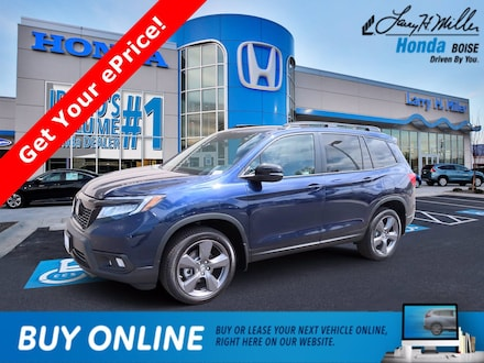 Featured New 2021 Honda Passport Touring AWD SUV for sale near you in Boise, ID