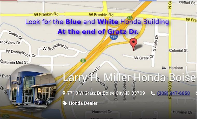 Larry Miller Honda >> About Larry H Miller Honda Boise Car Dealer Serving Caldwell