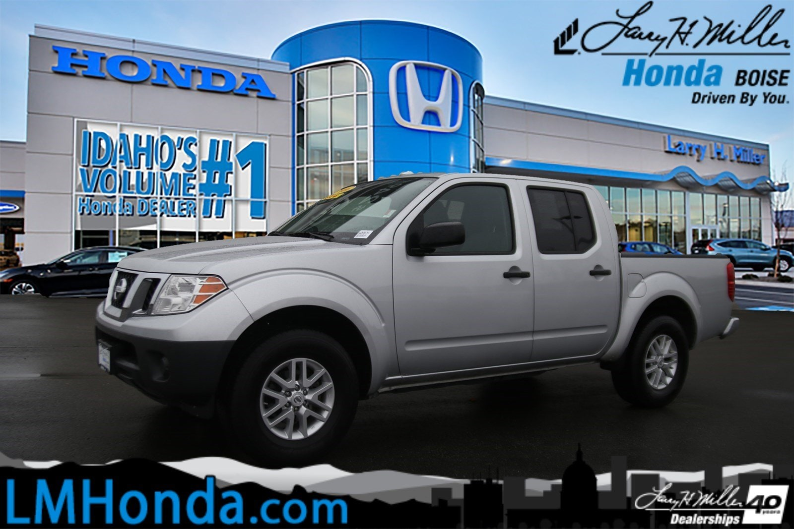 Featured Used 2016 Nissan Frontier Truck Crew Cab for sale near you in Boise, ID