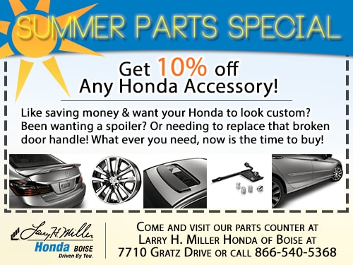 honda auto parts accessories in boise certified quality oem parts. Black Bedroom Furniture Sets. Home Design Ideas