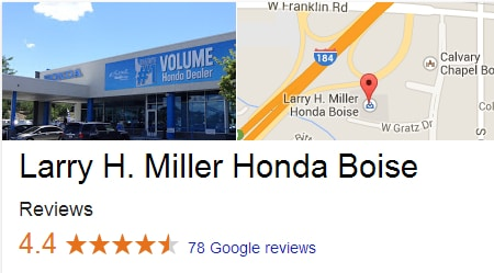 Buy Your Next Vehicle from Larry H. Miller Honda Boise