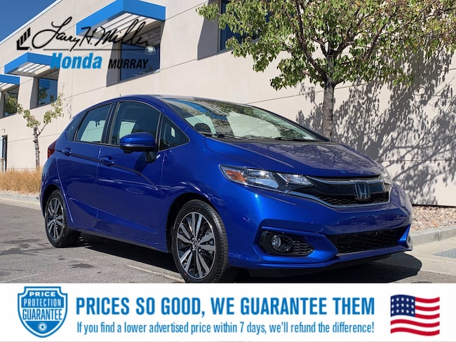 New Honda vehicle 2020 Honda Fit EX Hatchback for sale near you in Murray, UT