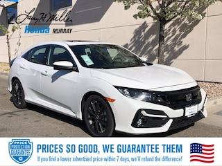 New 2021 Honda Civic EX Hatchback for sale near you in Murray, UT