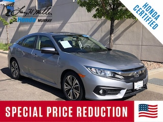 Used 2018 Honda Civic EX-L Sedan JHMFC1F7XJX001885 for sale near Salt Lake City
