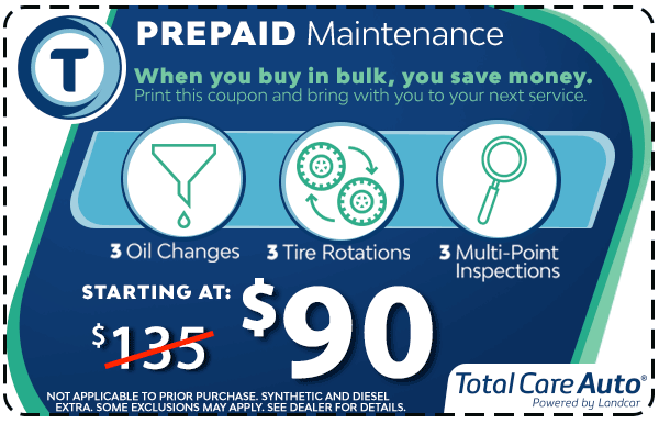 3 Oil Changes & Tire Rotations - $90