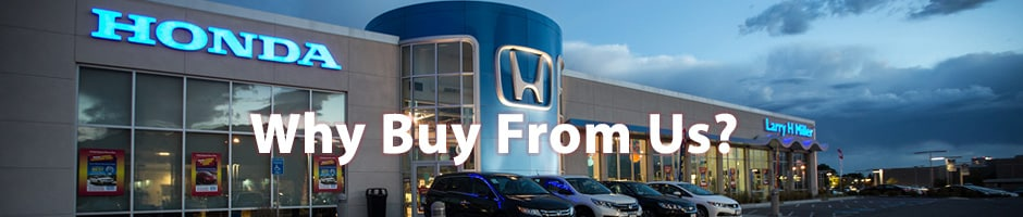 Larry H Miller Honda >> Why Should You Buy From Larry H Miller Honda In Murray Utah