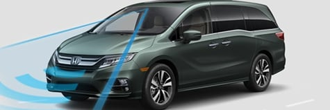 Honda Sensing In The New 2018 Honda Odyssey