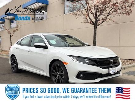 Featured New 2021 Honda Civic Sport Sedan for sale near you in Murray, UT