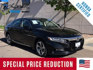Certified Pre-Owned 2018 Honda Accord EX 1.5T Sedan 1HGCV1F41JA250536 for sale near you in Murray, UT near Salt Lake City