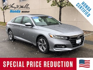 Certified Pre-Owned 2020 Honda Accord EX Sedan 1HGCV1F42LA091061 for sale near you in Murray, UT near Salt Lake City
