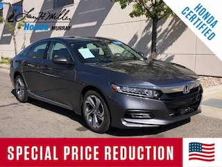 Certified Pre-Owned 2019 Honda Accord EX 1.5T Sedan 1HGCV1F41KA031920 for sale near you in Murray, UT near Salt Lake City
