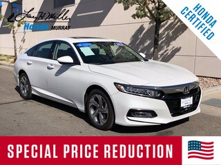 Certified Pre-Owned 2020 Honda Accord EX Sedan 1HGCV1F49LA067470 for sale near you in Murray, UT near Salt Lake City