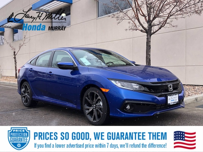 New Honda vehicle 2021 Honda Civic Sport Sedan for sale near you in Murray, UT