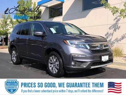 Featured New 2021 Honda Pilot EX-L SUV for sale near you in Murray, UT