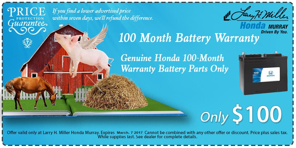 Honda Car Battery Deal In Murray