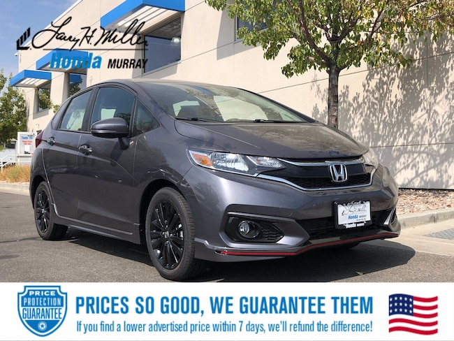 New Honda vehicle 2020 Honda Fit Sport Hatchback for sale near you in Murray, UT