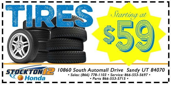 New Tires Special in Sandy