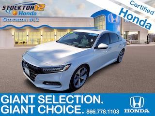Certified Pre-Owned 2019 Honda Accord Touring 2.0T Sedan for sale near Salt Lake City
