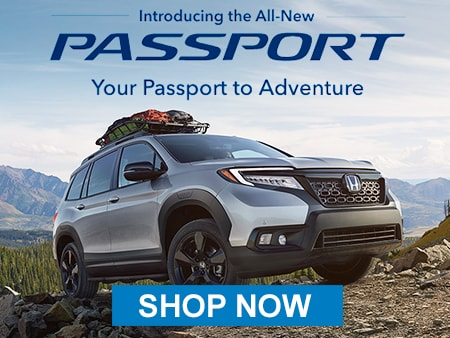 The All-New Honda Passport