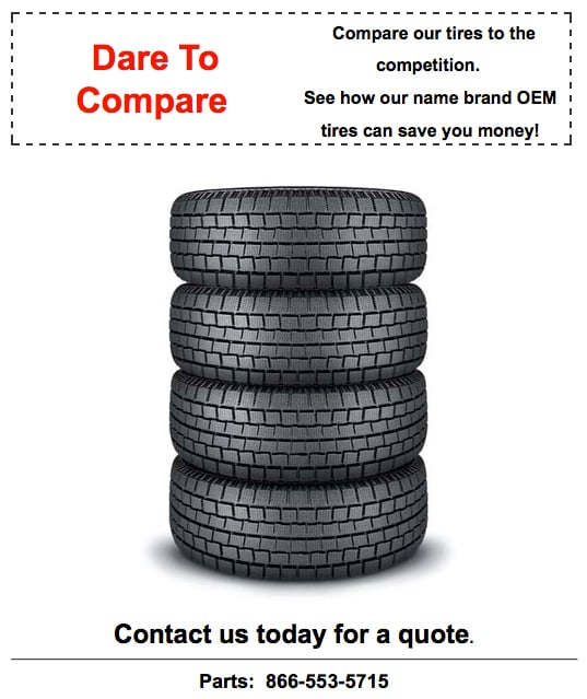 Good Deal on Tires Image in Sandy Utah