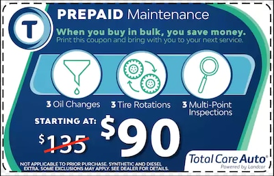 Pre-Paid Maintenance