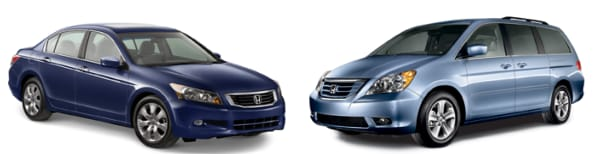 Honda Accord and Odyssey specials in Sandy