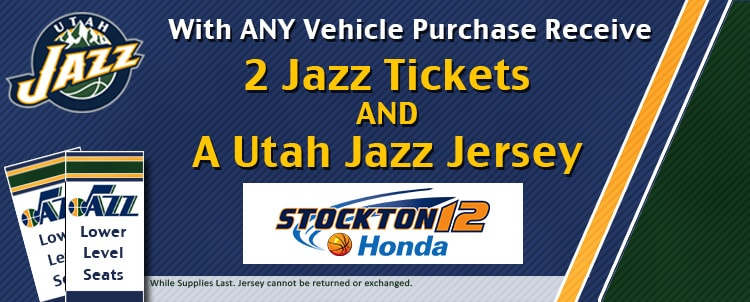 Utah Jazz Tickets with purchase