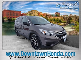 Used vehicles 2016 Honda CR-V SE AWD  SE for sale near you in Spokane, WA