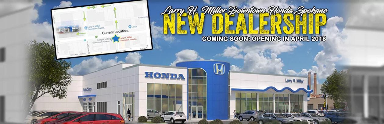 Larry Miller Honda >> Larry H Miller Downtown Honda Spokane Is Getting A New Dealership