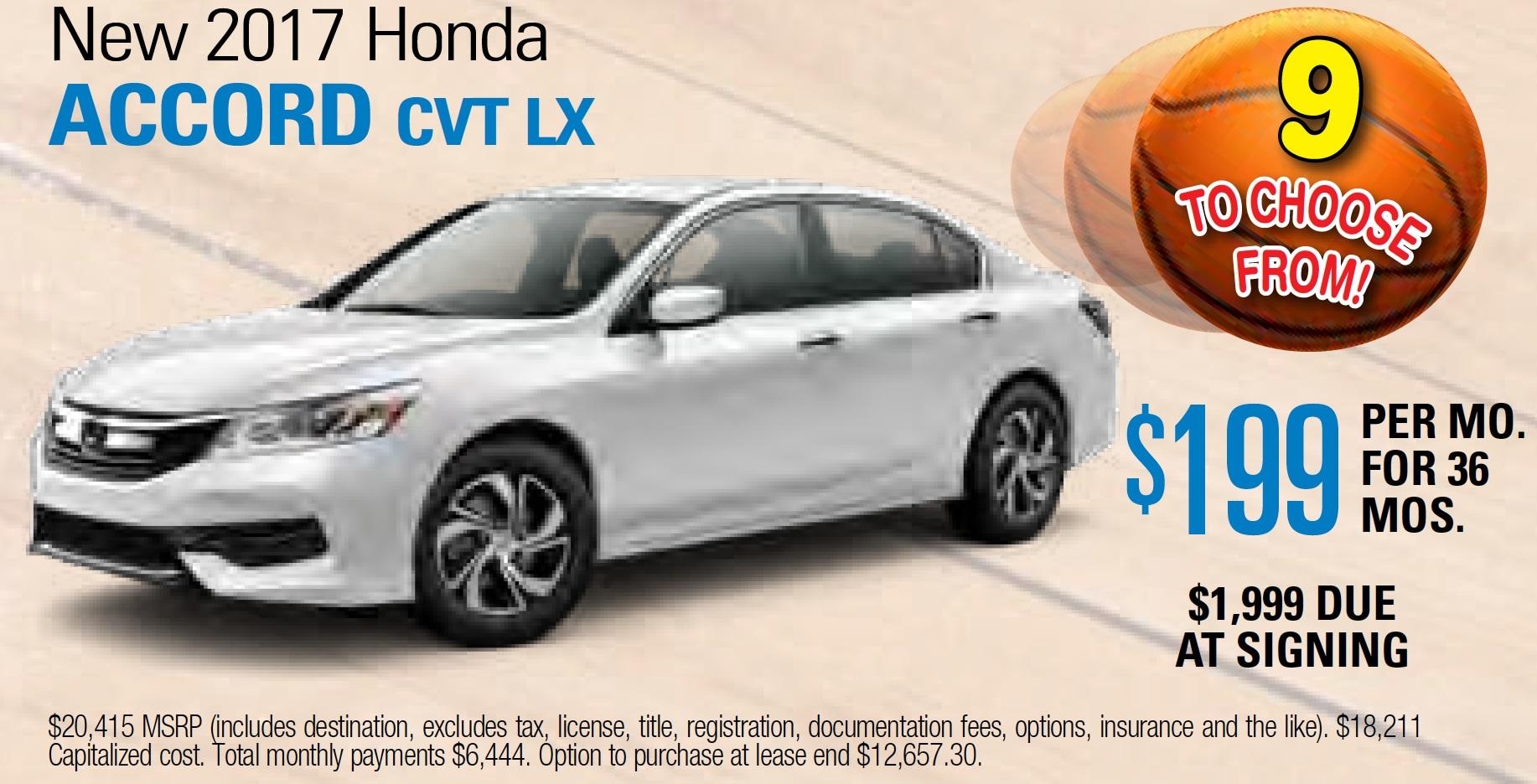 Larry h miller downtown honda spokane new honda for Honda lease options